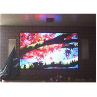Hotel High Definition Electronic Indoor Full Color Led Display Paste Three In One Manufactures