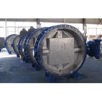 WCB Body Disc Metal To Metal Butterfly , Triple Eccentric Butterfly Valve Bidirectional Seal Manufactures