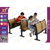 Custom Aluminum Alloy Folding Lecture Hall Seating With Writing Pad Manufactures