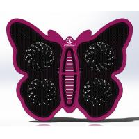 Fashion 4 Fan 17 inch Laptop Cooling Pad with Fan ,Butterfly Plastic Laptop Cooler Manufactures