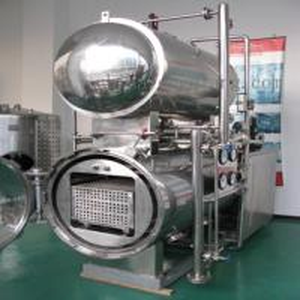 Rotary double tanks retort sterilizer Manufactures