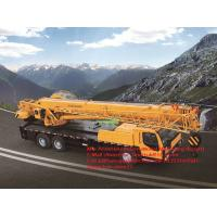 All Terrain QY35K5 Truck Mounted Crane Fuel Type 14.3m Lifting Height Manufactures
