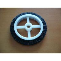 Black Roll Cotton Stenter Brushes Wheel Mini For Textile Machinery Manufactures