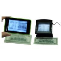 LCD screen Counterfeit Bill Detector For Banks , counterfeit bill checker Manufactures