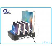 Detachable 30W 4 Port USB Desktop Charging Station Organizer , Cell Phone Charging Station Manufactures