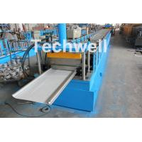 China PLC Control Cold Roll Forming Machine For Different Size Garage Door Panel on sale
