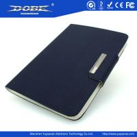 Cross pattern PU Fashion protective Case with stand and magnetic buckle for iPad Mini Manufactures
