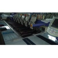 920 / 912 / 906 Flat Embroidery Machine , Multi Color Embroidery Machine With LCD Screen