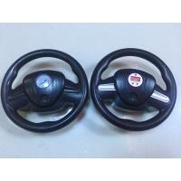 DC12V Digital And Gauge Car Air Pump , Steering Wheel Shape Car Tyre Air Compressor Manufactures