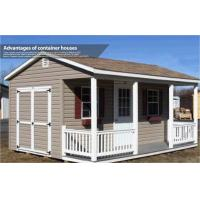 Prefabricated Light Steel Structure House / Cottage , Fireproof and Easy Assemble Manufactures