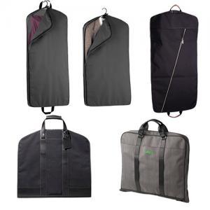 Custom PEVA Fabric Suit Garment Bag For Storage , Mens Suit Covers Manufactures
