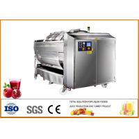 Coustom Pomegranate juice production line 3T / H ISO9001 Certificate Manufactures