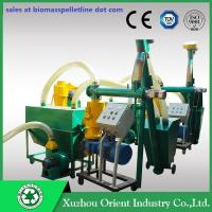 Organic Fertilizer Pellet Plant/Small Pellet Line/Pellet Line Manufactures