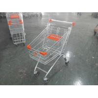 Childrens Wire Shopping Trolley Foldable With 4 wheel , European Style Manufactures