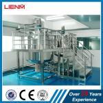 2000L Industrial Liquid Detergent Homongenizer Mixer Plant High Precision Cosmetic Product Line Liquid Soap Making Machi Manufactures