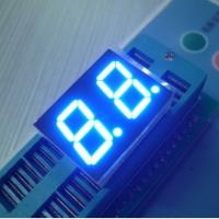 Signage Bright Dual 7 Segment LED Display Blue For Medical Equipment Manufactures