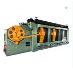 China Double Block Hexagonal Gabion Wire Mesh Machine Automatic Heavy Duty on sale