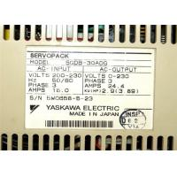 Yaskawa Electric Sgdb-30adg Servopack 200/230v Fase 3 12a 4.13 Hp Industrial Servo Drives Manufactures