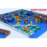 Day Care Centre Indoor Jungle Gym , Indoor Preschool Playground Equipment For Kids  Customized Manufactures