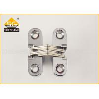 Zamak 180 Degree Cabinet Concealed Hinge For Interior / Cupboard Door Manufactures