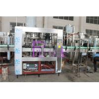 SUS316L Bottle Filling Machine Monoblock 2 In 1 De - Foaming Device Installed for sale