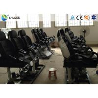 Two Seats Together 5D Simulator Motion Chair With Projectors / Screen System Manufactures