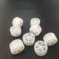 Virgin HDPE Material MBBR Bio Media 10*7mm Size For Long Service Life Manufactures