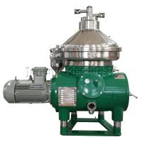 3 Phase Stainless Steel 304 Disc Oil Separator For Oil And Soap Separation Manufactures