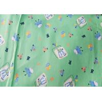 China Dyed And Printing Organic Flannel Fabric For Baby Clothing Twill Style on sale