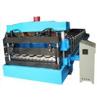 Thickness 0.3mm-0.8mm Colour Steel Roofing Sheet Cold Roll Forming Machine For Steel Roof Panel Manufactures