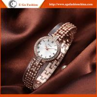 China KM08 Rose Gold Watches for Woman Lady Watch Quartz Analog Watch Full Steel Quartz Watches on sale