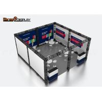 China 20x20 Truss Trade Show Booth Display Aluminum Fair Stand For Advertising on sale