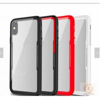 China 2018 Armor Glass Shell Tempered Glass Phone Case For Iphone X  Shockproof Phone Cases on sale