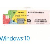 Microsoft Windows 10 pro OEM 64 Bit Online Activation Globally Italian Version Manufactures