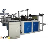 Grocery Plastic Bag Making Machine Double Servo Motor Length Fixing High Automation Manufactures