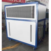 Low Temperature Air Cooled Water Chiller 1.5kw For Injection Molding Manufactures