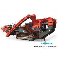 China High Capacity Impact  Portable Jaw Crusher  Stable For Hard Rock side belt conveyor for sale