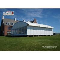 25m Width Dome Tent With Glass Walling And ABS walling For Outdoor Events Manufactures