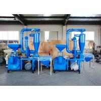 100 Mesh No Dust Plastic Recycling Equipment Compact Structure Overload Protection Manufactures