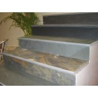 Rusty Slate Steps Multicolor Slate Stairs with Natural Cleft Surface and Bullnose Manufactures