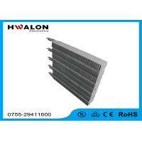 China Physical Treatment Wind Speed 4 M / S Electric PTC Heater With Surface Temp. 230 ℃ on sale