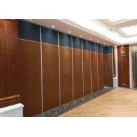 China Sliding Folding Soundproof Partition Walls For Space Division on sale