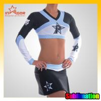 China ODM Girls Dance Cheerleading Wear Moisture Wicking Sports Clothing on sale