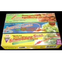 d2w Degradable Food & Freezer BaZip storage food Bags, Microwave Bags, Slider