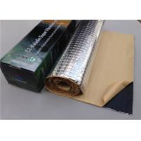 Shock - Proof Silent Feet Anti Vibration Mat / Pads For Air Compressor AL Foil Manufactures