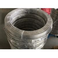 20ft Length Stainless Steel Coiled Tubing High Tensile Strength For Textile Machinery Manufactures