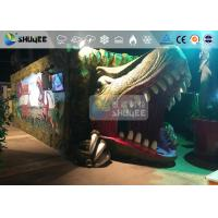 Fantastic Mobile 7D Movie Theater Dinosaur Cinema For Theme Park Manufactures