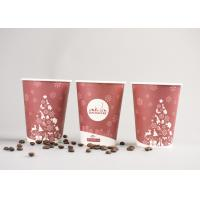 Custom Personalized Disposable Coffee Cups Insulated With FDA Approved Paper Manufactures
