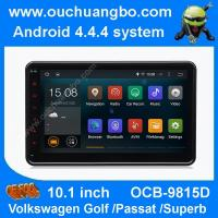 Ouchuangbo android 4.4 VW Caddy EOS Polo 10.1 inch big screen 3G WIFI USB free map 47 core Manufactures