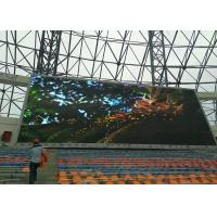 Quality Front Maintained Video Outdoor Advertising Led Display Signs High Brightness Eco Friendly for sale